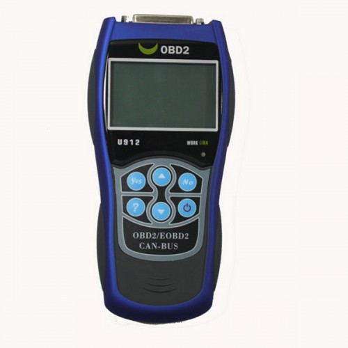 Autoscanner OBDII EOBD U912 Code Reader updated by internet
