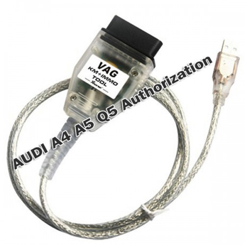 AUDI A4 A5 Q5 Authorization for V-A-G KM IMMO TOOL and Micronas OBD TOOL (CDC32XX) Cable