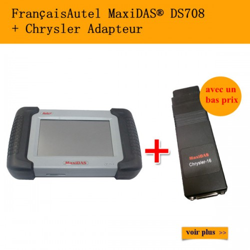 Autel MaxiDAS® DS708 plus Chrysler Adaptor