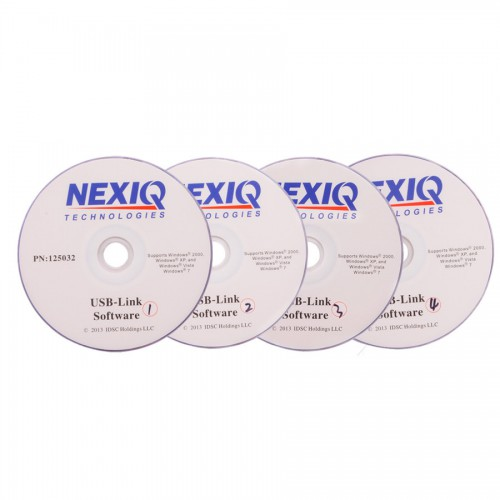 NEXIQ 125032 USB Link + Software Diesel Truck Interface and Software