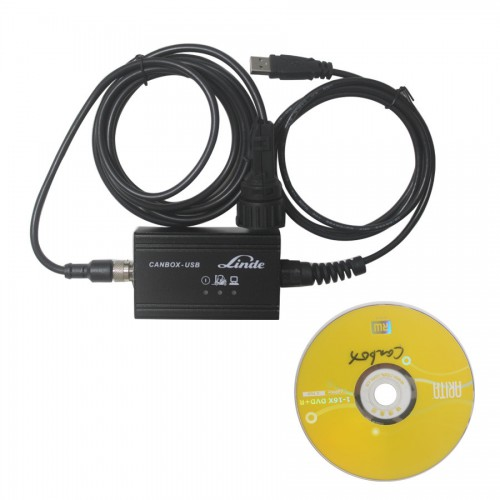 Linde Canbox USB Diagnostic Tool Truck Scanner update to 2014