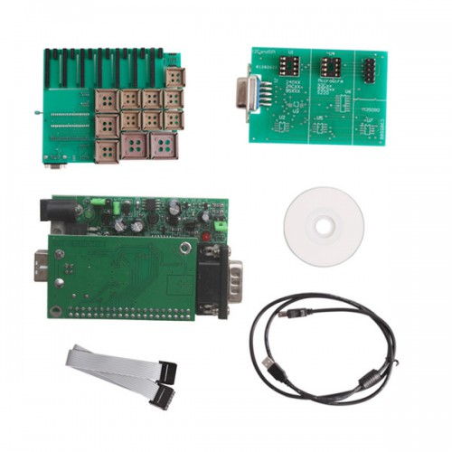 2012 New UPA USB Programmer V1.2 with Full Adaptors Green Color in promo