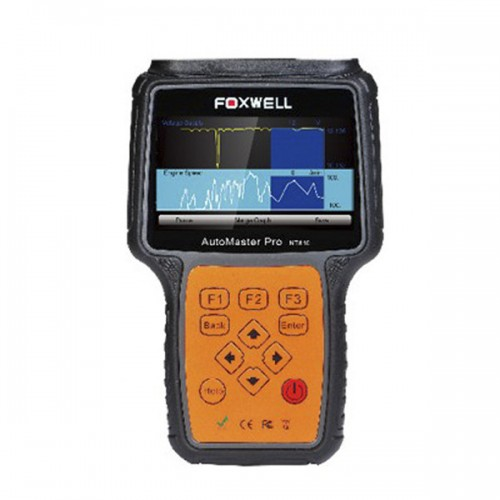 Foxwell NT641 AutoMaster Pro Asian-Makes All System + EPB+ Oil Service Scanner