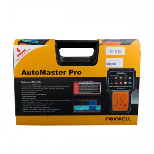 Foxwell NT612 AutoMaster Pro European Makes 4-Systems Scanner