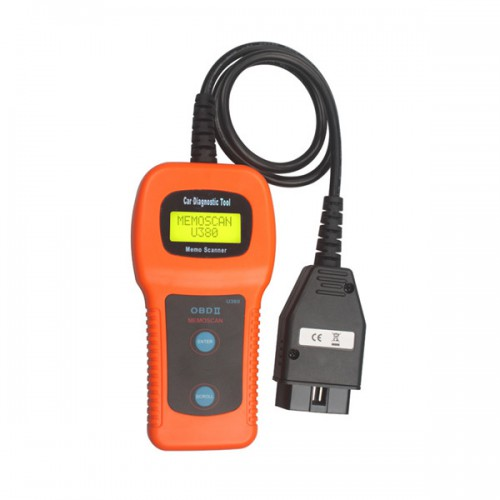 U380 OBDII OBD2 EOBD Engine Scanner Trouble Code Reader Free Shipping