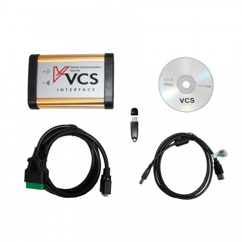 Migliore  VCS Vehicle Communication Scanner Interface with Full adapter