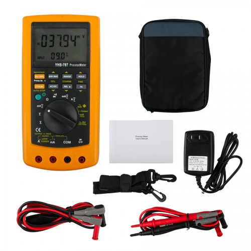 Original YHS-787 Digital Process Calibration Multimeter Tester