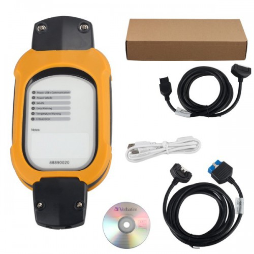 Vcads 88890180 (88890020 + yellow protection) Auto Diagnostic Interface for Volvo Support Multi-languages