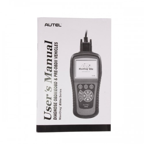 Nuovo Autel MaxiDiag Elite MD802 All System+DS Model free online update for lifetime (Spedizione Gratis)