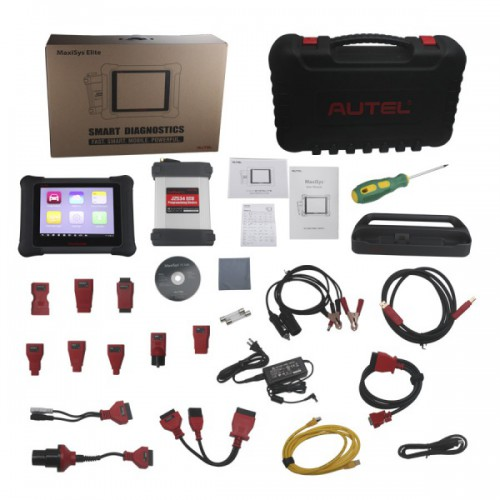 Latest AUTEL MaxiSys Elite with J2534 ECU Preprogramming Box Promo