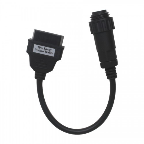 7pin Knorr Wabco Trailer Cable For Multi-Diag Scanner