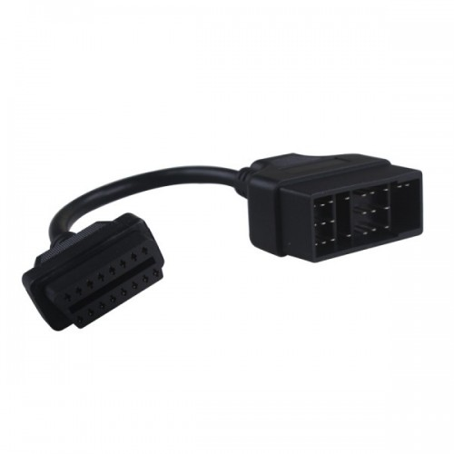 TOYOTA 22pin to 16pin OBD1 to OBD2 Connect Cable
