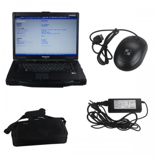 Second Hand Panasonic CF52 Laptop for Porsche Piwis Tester II (No HDD included)