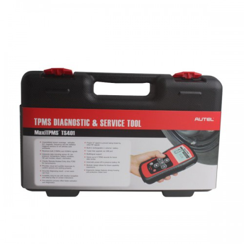 Autel TPMS Diagnostic and Service Tool MaxiTPMS® TS401 V2.56 Update Online