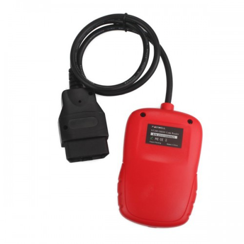 Foxwell CAN OBDII/EOBD Code Reader NT200 Support Multi-Languages and Update Free Lifetime Promo