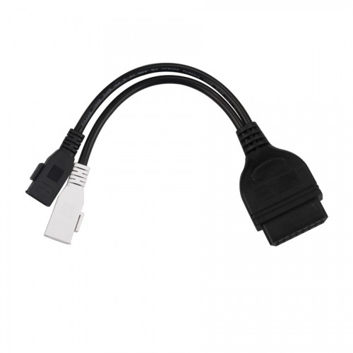 Audi 2x2 to OBD2 Adapter Free Shipping