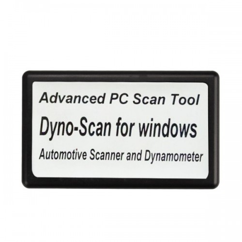 Dyno-Scanner For Dynamometer And Windows Automotive Scanner Multi-languages
