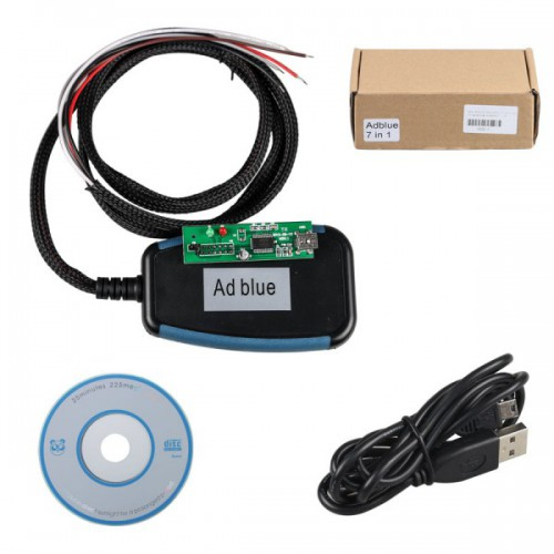 MODULO EMULATORE AdblueOBD2 Emulator 7-in-1 with Programing Adapter Migliore Qualita (Posta Gratis)