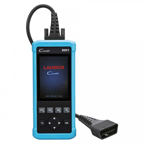 Nuovo Launch DIY Code Reader CReader 8001 CR8001 Full OBD2 Scanner with Oil Resets Service