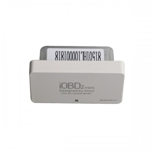 XTOOL iOBD2 Mini OBD2 EOBD Scanner Support Bluetooth 4.0 for iOS and Android Promo