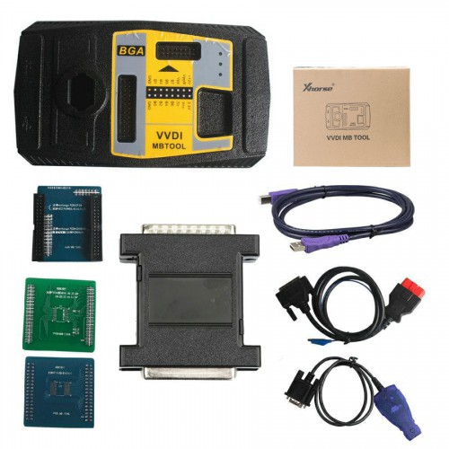 Originale Xhorse VVDI MB BGA TooL Benz Key Programmer Plus VVDI MB Tool Power Adapter for Data Acquisition