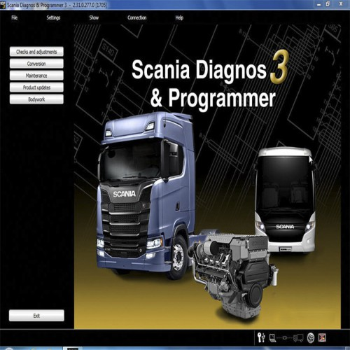 Scania VCI 2 SDP3 V2.31.1 Newest Version Software for Trucks/Buses