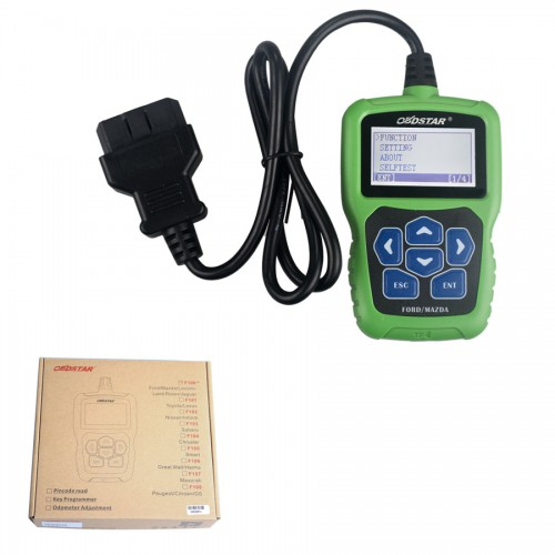 Nuovo OBDSTAR F-100 Mazda/Ford Auto Key Programmer No Need Pin Code Support New Models and Odometer (DHL Gratis)