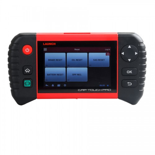 "Launch Creader CRP Touch Pro 5.0"" Android Touch Screen Full System Diagnostic Service Reset Tool including Battery Registration/EPB/Oil Service Light"