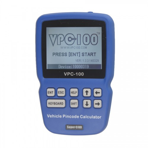 VPC-100 Pin Code Calculator Hand-Held With 500 Tokens