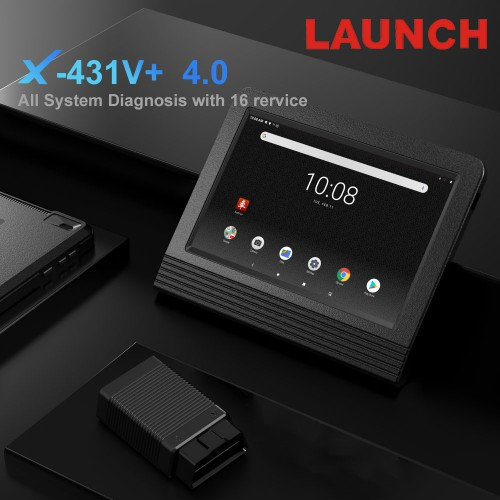 Launch X431 V+ Wifi/Bluetooth Global Version V4.0 Full System Scanner 2 Anni Aggiornamento Gratis(UK Spedizione No Tasse)