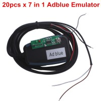 20pcs New AdblueOBD2 Emulator 7-In-1 With Programing Adapter Spedizione Gratis con DHL