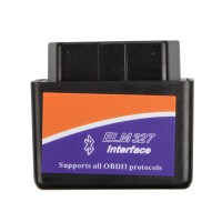 MINI ELM327 Bluetooth OBD2 V1.5 (Black)