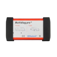 2016.1V Bluetooth Multidiag Pro+ Per Auto/ Camion/ OBD2 3 in 1 Top Qualita 2019 Nuovo Design