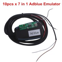 Spedizione Gratis 10pcs New AdblueOBD2 Emulator 7-In-1 With Programing Adapter
