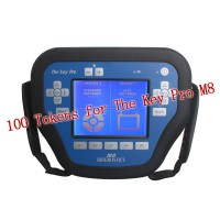 100 Tokens for The Key Pro M8 Auto Key Programmer