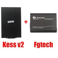 In Promo V2.22 KESS V2 OBD2 Master Version No Tokens Limit Plus V54 FGTech Galletto 4