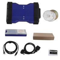 Economico V141 VCM II for LandRover & Jaguar Diagnose and Programming Tool Blue Colore