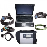 2020.03V MB SD Connect Compact 4 Star Diagnosis Plus Dell D630 Laptop 4GB Memory Software Installed Ready to Use