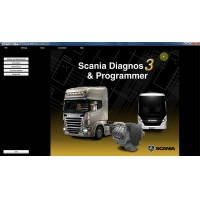 Newest SDP3 V2.23 Software for SCANIA VCI2/VCI3 without USB Dongle