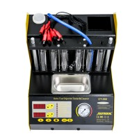 AUTOOL CT200 Ultrasonic Fuel Injector Cleaner & Tester Support 110V/220V with English Panel Promo
