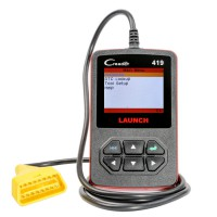 (UK Spedizione No Tasse) Launch CReader 419 DIY Scanner OBDII/EOBD Auto Diagnostic Scan Tool Code Reader