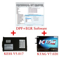 No Token Limitazione V5.017 KESS V2 plus KTAG V7.020 Software 2.47 ECU Programmatore con DPF+EGR REMOVER Software Full Promo