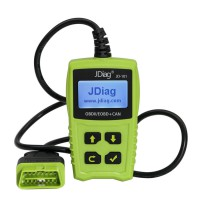 JDiag JD101 OBDII EOBD CAN Code Scanner Update Online Multi-language Available