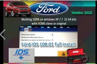 2018 Latest Ford VCM IDS V118.05 Full Software Support Multi-languages WIN XP/7 32 64Bits