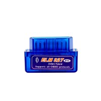 Hot  MINI ELM327 Bluetooth OBD2 Hardware V1.5 Software V2.1