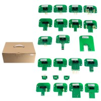 Buon Prezzo LED BDM Frame 22 Sets of Adapters for KTAG KESS KTM Dimsport ECU Programmer