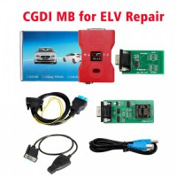 (UK Spedizione No tasse) CGDI Prog MB Benz Key Programmer Support All Key Lost with ELV Repair Adapter