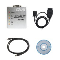 ELM327 1.5V USB CAN-BUS Scanner Software Software V2.1