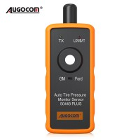 AUGOCOM Auto Tire Pressure Monitor Sensor 50448 Plus 2in1 TPMS Activation Tool for GM and Ford