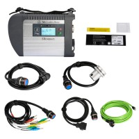 V2020.03 MB SD C4 Connect Compact 4 Star Diagnosis con WIFI Per Auto e Camion Multi-lingue Italiano Incluso